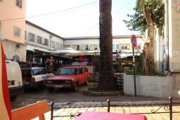 Рынок Зелена пьяца в центре старого города в Герцег Нови