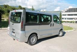 Аренда Opel Vivarо с водителем (вместимость 7 человек) : Черногория