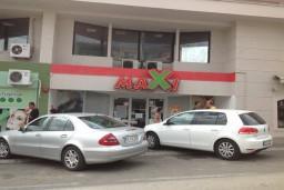 Супермаркет MAXI в Ульцине