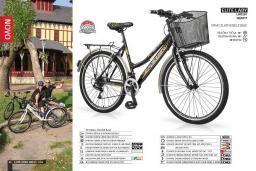 Женский велосипед ELITE LADY с корзинкой, 18 скоростей, 26' колеса, 19' рама : Черногория