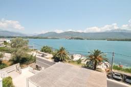 Вид. Черногория, Обала Джурашевича : Студия с балконом с шикарным видом на море