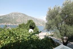 Вид на море. Черногория, Столив : Студия с балконом с видом на залив, возле пляжа