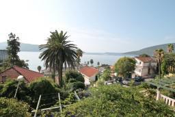 Вид. Черногория, Герцег-Нови : Современная студия с балконом с видом на море, 75 метров до пляжа
