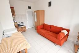 Студия (гостиная+кухня). Черногория, Кримовица : Студия для 2 человек, с балконом с видом на море
