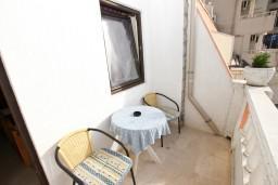 Балкон. Черногория, Рафаиловичи : Двухместный номер с видом на море