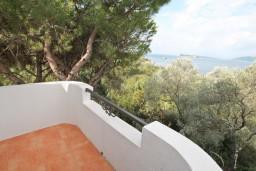 Балкон. Черногория, Жанице / Мириште : Студия для 2-3 человек с балконом с видом на море, 80 метров до пляжа
