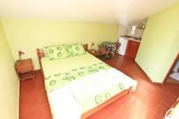 Студия (гостиная+кухня). Черногория, Прчань : Студия для 2 человек, с балконом с видом на море, 20 метров до пляжа