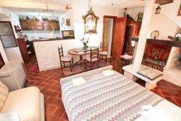 Студия (гостиная+кухня). Черногория, Пераст : Студия для 2-3 человек, с террасой, 20 метров до моря