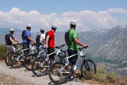 Маунтинбайк - горный велотуризм : Черногория
