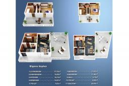Прочее. Черногория, Бигова : Дуплекс апартамент для 6 человек, с 3-мя отдельными спальнями, с 2-мя ванными комнатами (душ и джакузи), с просторной гостиной, с 2-мя большими террасами с видом на море