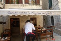 Ресторан Regina del gusto в Которе