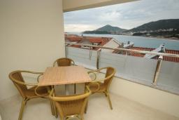 Балкон. Черногория, Рафаиловичи : Студио №501 с балконом и видом на море