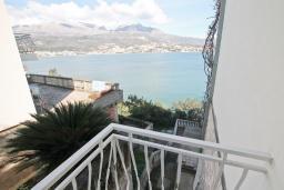 Вид на море. Черногория, Нивице : Студия для 2 человек, с 2-мя балконами с шикарным видом на море, 30 метров до пляжа