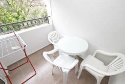 Балкон. Черногория, Петровац : Апартаменты на 2-3 персоны, с отдельной спальней, с балконом