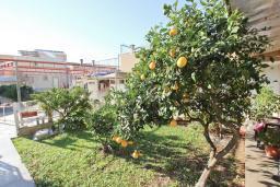 Территория. Черногория, Булярица : Просторный апартамент с большой гостиной, двумя спальнями и террасой, для 4-5 человек
