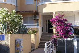 Черногория, Петровац : Трехкомнатная квартира с видом на море, с гостиной и двумя отдельными спальнями, для 4-5 человек