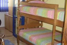 Спальня 2. Черногория, Мельине : Апартамент в 70 метрах от пляжа, с гостиной, двумя спальнями и балконом