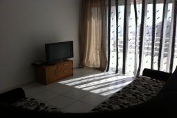 Гостиная. Черногория, Приевор : Апартамент с гостиной, двумя спальнями и балконом с видом на море