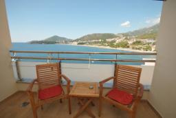 Вид на море. Черногория, Рафаиловичи : Студио №702 с видом на море