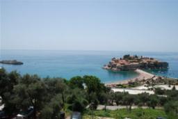 Вид на море. Черногория, Святой Стефан : Апартамент с 1 спальней и видом на море, на 3 этаже (№7 АPP 04+1/SV)