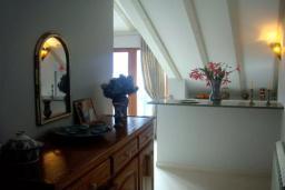 Кухня. Черногория, Доброта : Апартамент с балконом и шикарным видом на море, большая гостиная, отдельная спальня