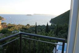 Вид на море. Черногория, Жанице / Мириште : Апартамент с гостиной, отдельной спальней и балконом с шикарным видом на море