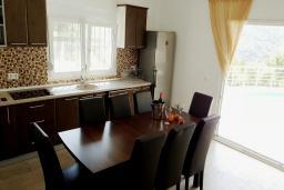 Кухня. Черногория, Подгорица : Вилла с бассейном и видом на горы, 6 спален, 3 ванные комнаты, барбекю, парковка, Wi-Fi