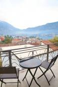 Балкон. Черногория, Доброта : Студия с балконом и видом на море