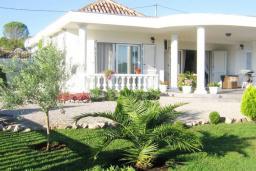 Фасад дома. Черногория, Кримовица : Прекрасная вилла с бассейном и зеленой территорией, 4 спальни, 2 ванные комнаты, парковка, Wi-Fi