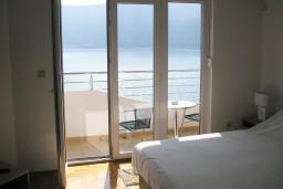 Балкон. Черногория, Игало : Роскошная студия с шикарным видом на море