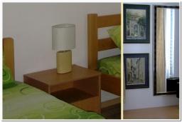 Спальня 2. Черногория, Рисан : Апартамент в 100 метрах от пляжа, с гостиной, двумя спальнями и двумя балконами