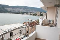 Вид. Черногория, Игало : Роскошный апартамент с большим балконом и шикарным видом на море