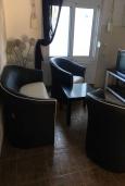 Кухня. Черногория, Утеха : Двухэтажная вилла с зеленым двориком, 4 спальни, 2 ванные комнаты, парковка