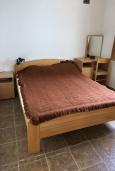 Спальня. Черногория, Утеха : Апартамент в 300 метрах от пляжа, с 2 спальнями и террасой