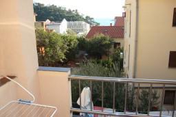 Вид на море. Черногория, Петровац : Студия с балконом и видом на море