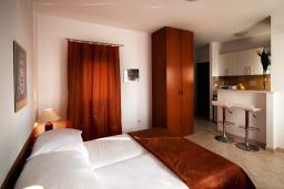 Студия (гостиная+кухня). Черногория, Герцег-Нови : Студия Агава для двоих с балконом и видом на море