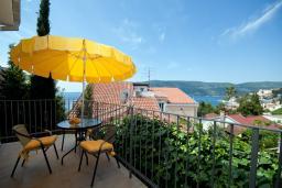 Вид на море. Черногория, Герцег-Нови : Студия Агава для двоих с балконом и видом на море