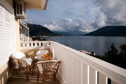 Вид на море. Черногория, Герцег-Нови : Апартамент Камелия для четырёх человек