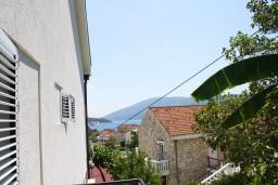 Вид на море. Черногория, Мельине : Студия в Мельине с балконом и видом на море