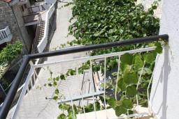 Вид. Черногория, Мельине : Апартамент с отдельной спальней, с балконом и видом на море