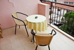 Балкон. Черногория, Каменово : Комната на 2 персоны, с кондиционером, с видом на море