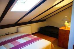 Спальня 2. Черногория, Котор : Апартаменты на 7 персон с видом на море, 2 спальни