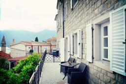 Терраса. Черногория, Пераст : A1 Luxury Suite - Separate bedroom