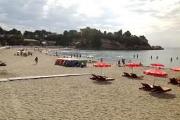 Пляж Мала плажа / Mala plaza в Ульцине