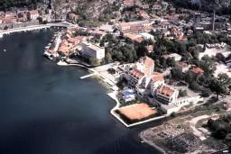 Пляж Фьорд / Fjord Plaza hotela в Которе