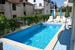 Swimming pool. Montenegro, Baosici : Apartment with 5 bedrooms in Baosici