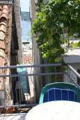 Балкон. Черногория, Мельине : Студия в Мельине с балконом и видом на море