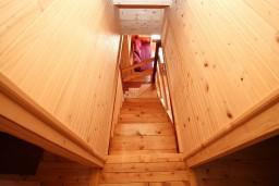 Коридор. Черногория, Колашин : Деревянный дом в Колашине с 2-мя отдельными спальнями