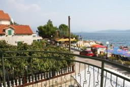Balcony. Montenegro, Baosici : Apartment with 1 bedroom in Baosici