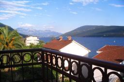 Вид на море. Черногория, Герцег-Нови : Студия с балконом и видом на море